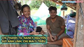Trao Quà Cho Vợ Chồng Anh Linh Chị Mai Số Tiền 5 Triệu đồng | Cuộc Sống Quê Miền Tây