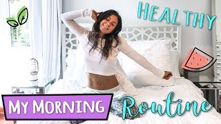 MY HEALTHY MORNING ROUTINE | VEGAN🍉
