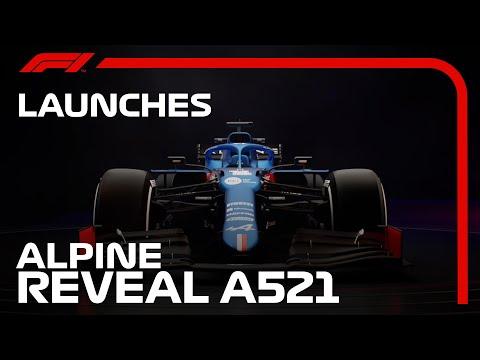 F1 2021 アルピーヌ「A521」が世界初公開!動画で見るA521