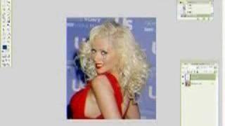 Makeover of Christina Aguilera