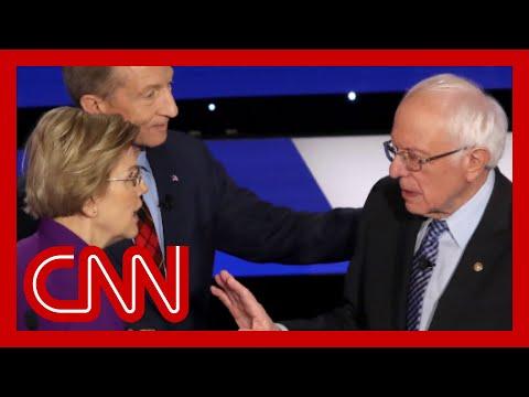 Audio reveals tense confrontation between Warren and Sanders