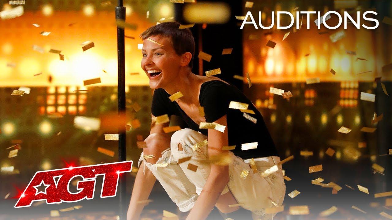 Golden Buzzer: Nightbirde's Original Song Makes Simon Cowell Emotional - America's Got Talent 2021 thumbnail