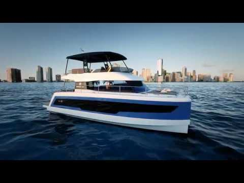 Fountaine Pajot Motor Yacht 40 video