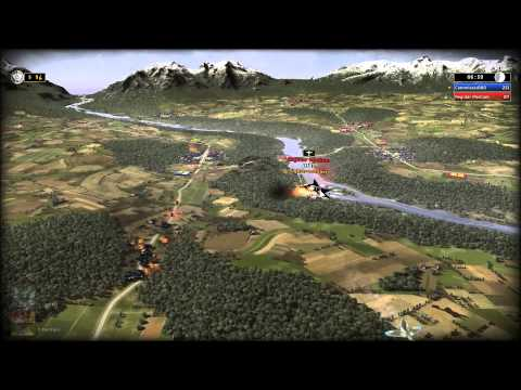 RUSE (R.U.S.E.) Gameplay - Russia vs. Germany