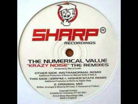 The Numerical Value - Krazy Noise   (Instranormal Remix) Mp3
