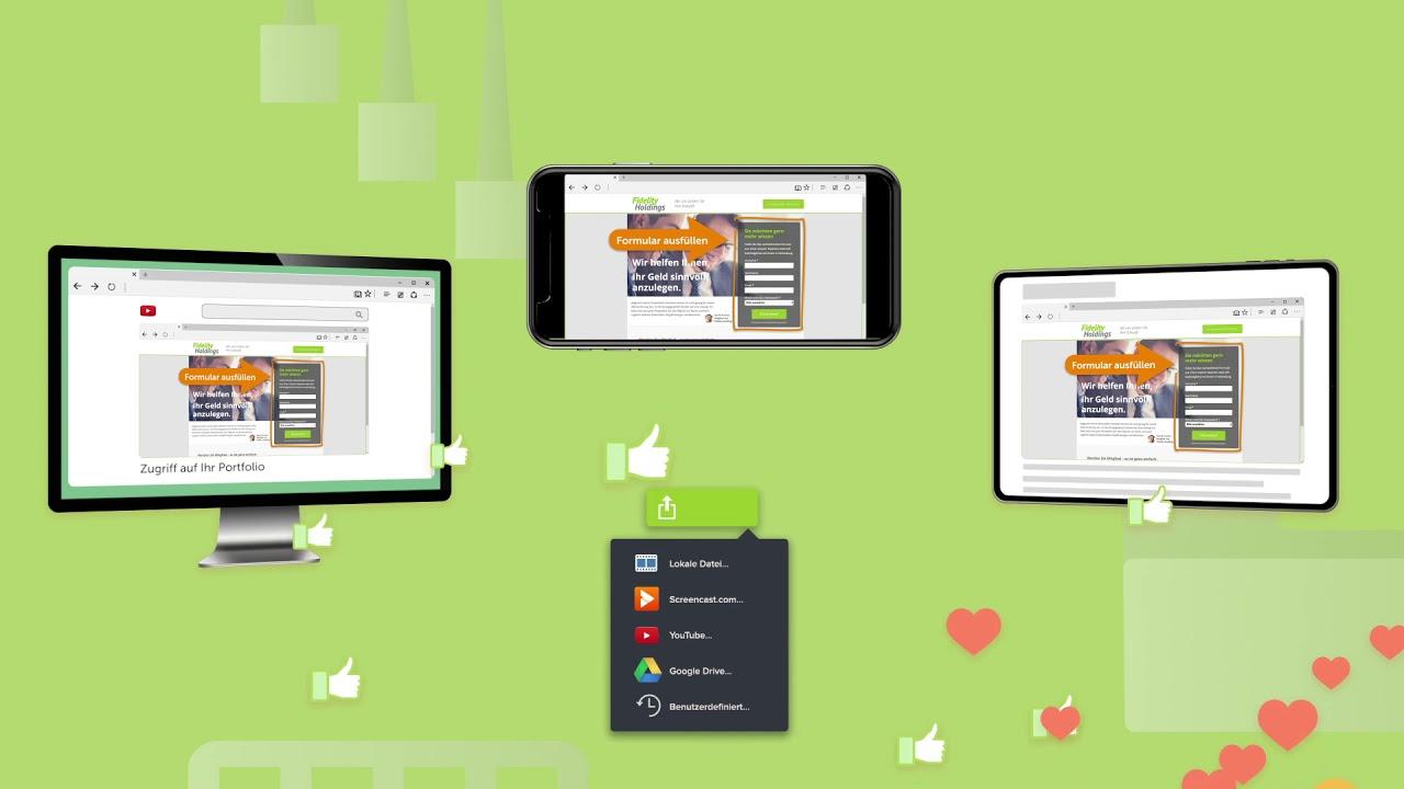 Camtasia 2021 die beste Komplettlösung für Bildschirmaufnahmen und Videobearbeitung