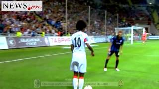 Henrikh Mkhitaryan   44 goals for Shakhtar Donetsk mp4