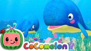 Mom and Baby Blue Whale Lullaby | Cocomelon (ABCkidTV) Nursery Rhymes & Kids Songs