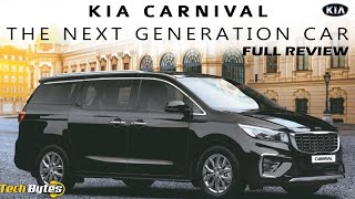 Kia Carnival 7, 8 And 9-Seater | The Next Generation Car | Techbytes