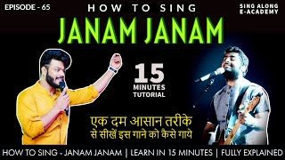 How to Sing - Janam Janam | Dilwale | 15 Minutes   - YouTube