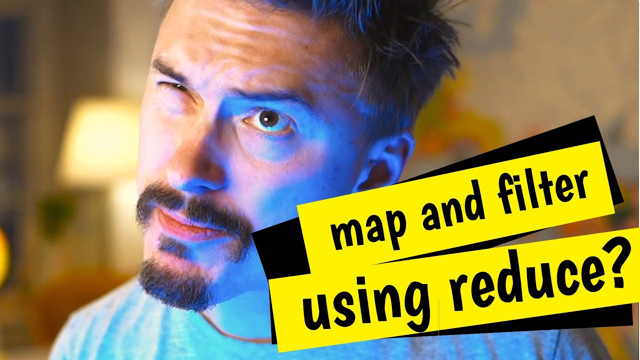 Using reduce to code filter and map in vanilla JavaScript