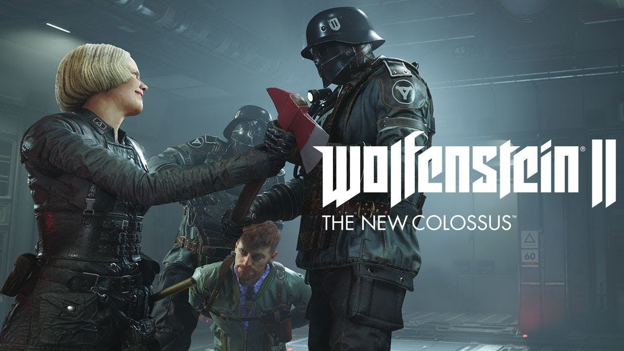 Wolfenstein II: The New Colossus – Reunited and it feels so gut
