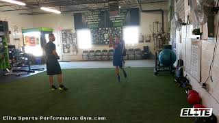 Athlete Power Step Technique for Explosive 1st Step
