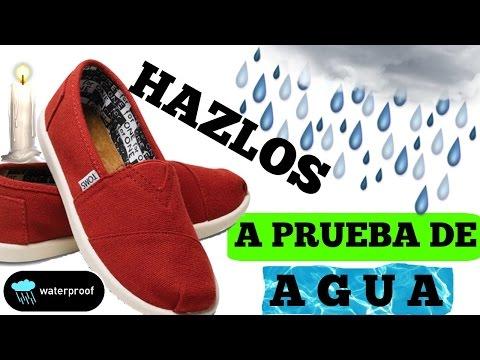 Como Hacer Tus Zapatos a Prueba de Agua | ¿REALMENTE FUNCIONA?