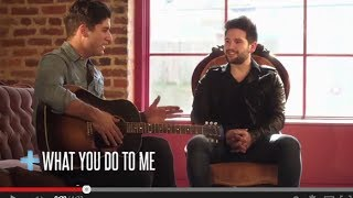 "Dan + Shay - ""Story + Song"" (What You Do To Me)"