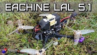 Eachine LAL5 .1 HD FPV Quad: Now in 4S