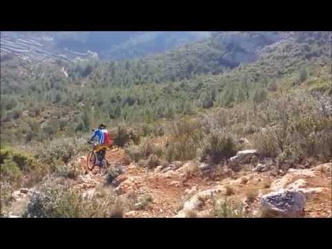DH ruaya downhill ( cortes d pallas ) 06-04-2014