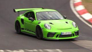 Porsche 991.2 GT3 RS - Exhaust SOUNDS on the Nurburgring!