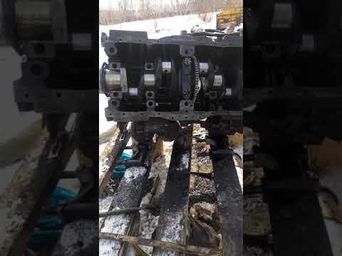 Как уложить коленвал на двигатель а41 дт  75