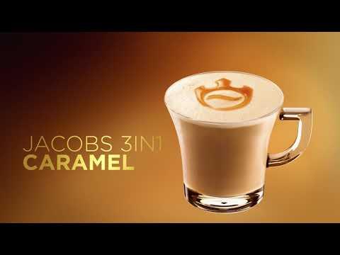 Šķīstošās kafijas dzēriens ar karameļu garšu Jacobs 3in1 (10x16,9g), 169g cena un informācija | Kafija un tēja | 220.lv