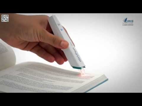 Lápiz escáner inalámbrico inteligente 8 IRISPen Air 7