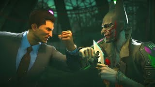 Injustice 2 - Bruce Wayne Vs Joker All Intro Dialogue and All Clash Quotes and Super Moves