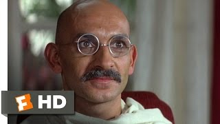 Gandhi (68) Movie CLIP   It Is Time You Left (1982) HD