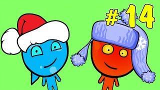 ПРИКЛЮЧЕНИЯ ОГОНЬ и ВОДА в ледяном храме #5. Развлекательное видео для детей на Игрули TV