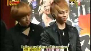 091128 Idol Maknae Rebellion Ep4 W. SHINee Eng Subbed [4/6]