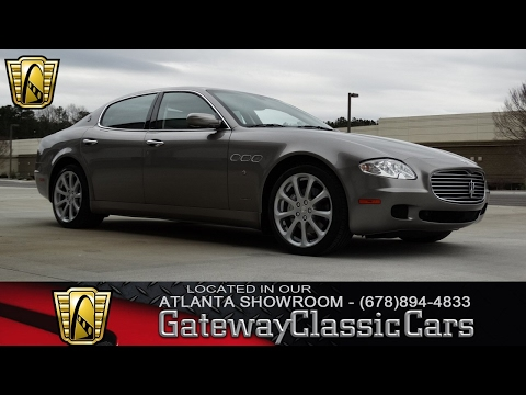 Video of '07 Quattroporte - KF6R