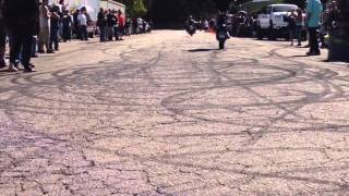 Molochs MC Wheelie Competition 2014