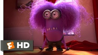 Despicable Me 2 movie clips: http://j.mp/153KF89 BUY THE MOVIE: http://j.mp/1B2MOic Don't miss the HOTTEST NEW TRAILERS: http://bit.ly/1u2y6pr Watch more Family and Animation videos to get all the best content that's fun for all ages:  Best Animated Movie Clips http://bit.ly/2a9DaSm Best Family Movie Clips http://bit.ly/2a18bZK  CLIP DESCRIPTION: A mutated minion attacks Gru's house and chases the girls around, but they are saved by Dr. Nefario (Russell Brand) and his antidote.  FILM DESCRIPTION: Universal Pictures presents this sequel to the wildly successful 2010 animated picture following Gru (voiced by Steve Carell), the ex-scheming evildoer-turned-parental figure, from animation company Illumination Entertainment.  CREDITS: TM & © Universal (2013) Cast: Miranda Cosgrove, Russell Brand, Elsie Fisher, Dana Gaier Directors: Chris Renaud, Pierre Coffin Producers: Christopher Meledandri, Janet Healy Screenwriters: Ken Daurio, Cinco Paul  WHO ARE WE? The MOVIECLIPS channel is the largest collection of licensed movie clips on the web. Here you will find unforgettable moments, scenes and lines from all your favorite films. Made by movie fans, for movie fans.  SUBSCRIBE TO OUR MOVIE CHANNELS: MOVIECLIPS: http://bit.ly/1u2yaWd ComingSoon: http://bit.ly/1DVpgtR Indie & Film Festivals: http://bit.ly/1wbkfYg Hero Central: http://bit.ly/1AMUZwv Extras: http://bit.ly/1u431fr Classic Trailers: http://bit.ly/1u43jDe Pop-Up Trailers: http://bit.ly/1z7EtZR Movie News: http://bit.ly/1C3Ncd2 Movie Games: http://bit.ly/1ygDV13 Fandango: http://bit.ly/1Bl79ye Fandango FrontRunners: http://bit.ly/1CggQfC  HIT US UP: Facebook: http://on.fb.me/1y8M8ax Twitter: http://bit.ly/1ghOWmt Pinterest: http://bit.ly/14wL9De Tumblr: http://bit.ly/1vUwhH7