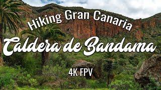 Hiking Gran Canaria in 4K FPV - Caldera de Bandama