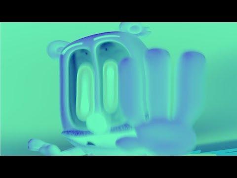 GREEN & BLUE & INVERT & WARPED & FAST Gummibär REQ VIDOE Klingon HD Gummy Bear Song