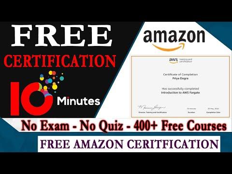 Amazon AWS Free Certification - Free AWS Digital Training ...