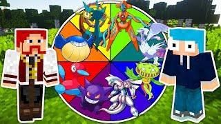 Dhelmise  - (Pokémon) - Minecraft ROLETA POKEMON ( Pokémon Roulette ) - DHELMISE DESTROI DEOXYS E MAIS 5 POKEMONS !!