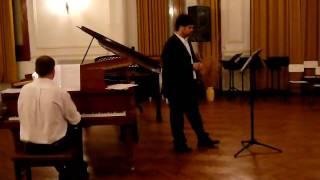 preview picture of video 'Canción del arbol del olvido - A. Ginastera / F. Silva'