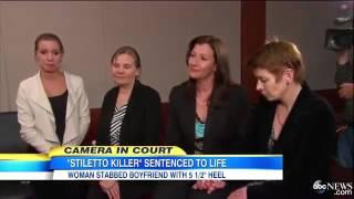 Stiletto Murderer Sentenced To Life In Priso
