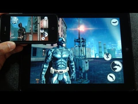 the dark knight rises ios review