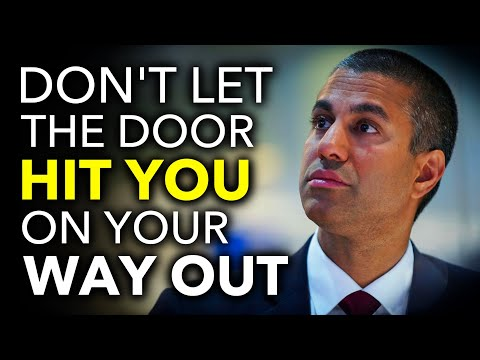 FCC's Ajit Pai Will Soon Be Out of a Job After Trying to Ruin the Internet