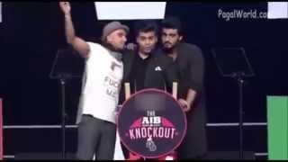AIB Knockout Roast Arjun Kapoor  Karan Johar  Ranveer Singh
