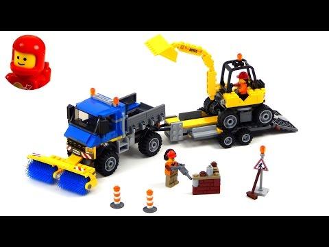 Vidéo LEGO City 60152 : Le déblayage du chantier