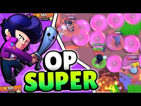 BIBI IS A MONSTER!! TOP BRAWLER FOR SURE IN BRAWL STARS!!