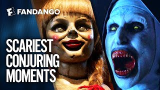 The Scariest Moments from The Conjuring Universe | Movieclips