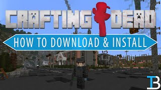 How To Download & Install the Crafting Dead Modpack in Minecraft