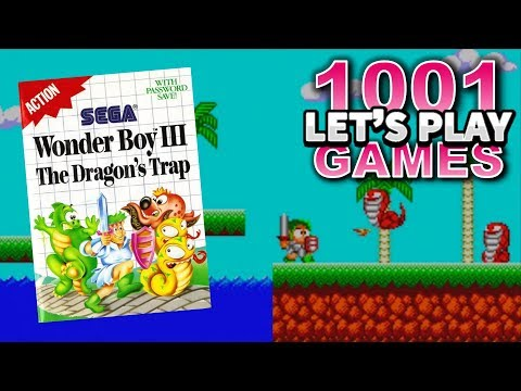 Wonder Boy III: The Dragon's Trap (Sega Master System) - Let's Play 1001 Games - Episode 402