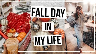 FALL DAY IN MY LIFE 🍁fall Shopping, Decorating My House, & Work Day
