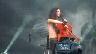 Apocalyptica live at Ruisrock 2008 Seemann