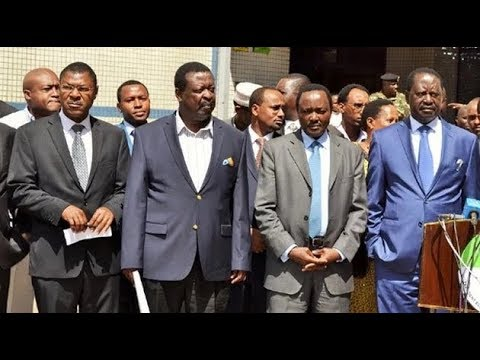 NASA to announce new date of Raila Odinga's inauguration