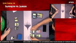 Pro Tour Khans of Tarkir, Round 15 (Standard): Owen Turtenwald vs. Mike Sigrist